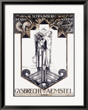 Gysbrecht Van Aemstel Play Framed Giclee Print by Richard N Roland-holst