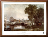 Mill at Dedham Posters by John Constable