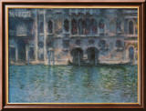 Venice Palazza Da Mula Poster by Claude Monet