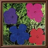 Flowers (Purple, Blue, Pink, Red) Kunst af Andy Warhol