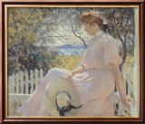 Eleanor 1907 Art by Frank Weston Benson