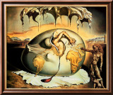 Geopoliticus Child Poster by Salvador Dal&#237;
