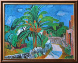 Path with Palm-Tree, Porto d'Ischia, 1957 Taide tekijänä Hans Purrmann