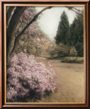 Azalea Way Print by Barbara Kalhor