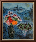 Bunch of Violets Poster by Marc Chagall