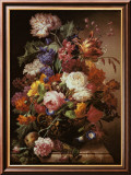 Grandmother&#39;s Bouquet I Print by Joseph Nigg