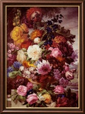 Grandmother&#39;s Bouquet II Poster by Joseph Nigg