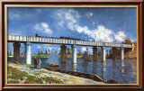 Bridge Prints by Claude Monet