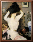 The Black Hat Prints by Frank Weston Benson