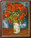 Poppies, c.1886 Poster by Vincent van Gogh