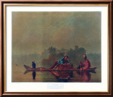 Fur Traders on the Missouri Láminas por George Caleb Bingham