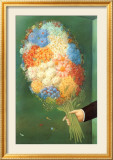 Flowers Posters by Fernando Botero