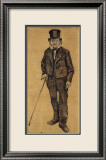 Orphan Man with Top Hat and Stick Posters af Vincent van Gogh