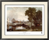 Mill at Dedham Print by John Constable