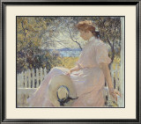 Eleanor 1907 Lámina por Frank Weston Benson