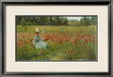 In Flanderns Field Poster von Robert William Vonnoh