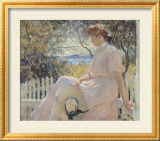 Eleanor 1907 Arte por Frank Weston Benson