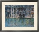 Venice Palazza Da Mula Posters by Claude Monet
