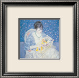 Basket of Flowers Posters by Frederick Carl Frieseke