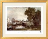Mill at Dedham Art by John Constable