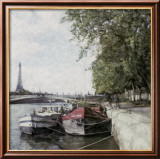 The Seine Art by Ernesto Rodriguez