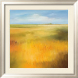 Yellow Fields I Prints by Hans Paus
