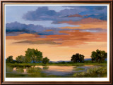 Autumn Skies II Limited Edition Framed Print by Wilkerson Karen