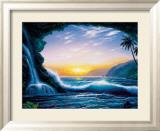 Ozeantraum Gerahmter Giclée-Druck von Steve Sundram