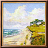 Coastal Lanscape Print by W. Neck