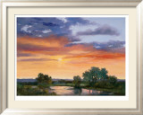 Autumn Skies I Limited Edition Framed Print by Wilkerson Karen