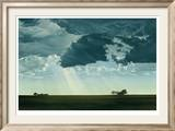 Dark Cloud Limited Edition Framed Print by Jon Eric Narum