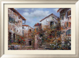 Italian Village I Prints by Joseph Kim