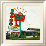 Holiday Motel: Miami Highway Affiches par Ayline Olukman