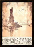 That Liberty Shall Not Perish Framed Giclee Print by Joseph Pennell