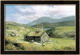 Cottage Near Conor Pass Poster af Clive Madgwick