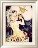 Munchener Fasching, 1938 Inramat gicléetryck av  Koli (Anton Kolnberger)