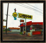 Route 66: West End Liquor Posters par Ayline Olukman