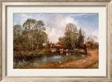 Old Cottage, Flatford Mill Posters af Clive Madgwick