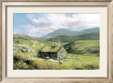 Cottage Near Conor Pass Plakater af Clive Madgwick