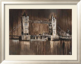 London Tower Bridge Poster von Yuliya Volynets