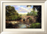 Old Bridge, Derbyshire Plakater af Clive Madgwick