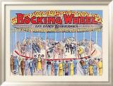 Rocking Wheel Inramat gicléetryck