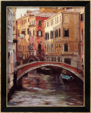 Venetian Evening Light Affiches par Craig Nelson