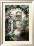 Haibin - Flowered Archway Obrazy
