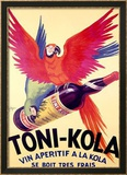 Toni-Kola Gerahmter Gicl&#233;e-Druck