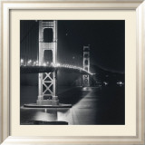 Golden Gate Nightscape Poster von Bill Voight