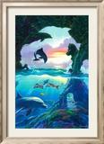 Seven Dolphins Posters af Jim Warren