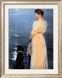 Summer Evening at Skagen Prints by Peder Severin Kröyer