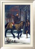 Der Heilige Martin Poster von Hans Von Marees