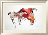 His Horses Prints by Carol Grigg
